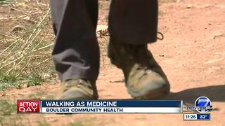 Boulder Community Health: Walking as medicine