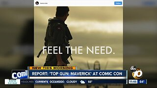 Report: 'Top Gun' sequel will have Comic-Con presence
