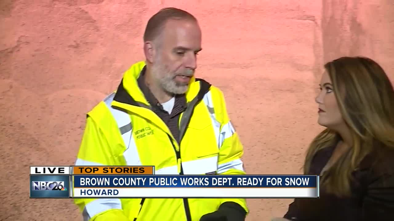 Brown County Public Works making a dent in the salt supply