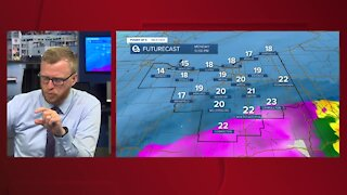 Power of 5 meteorologist Trent Magill gives update on winter storm
