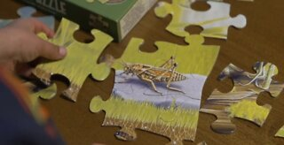 Relieving stress with puzzles