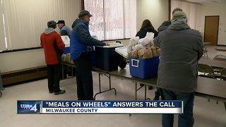 Meals on Wheels makes deliveries despite bitter cold