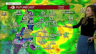 Sunday's soggy forecast