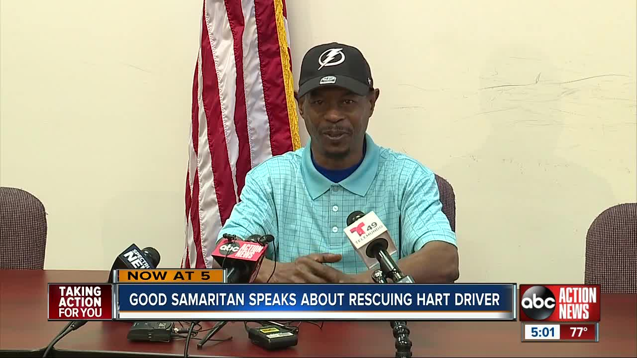 Army veteran saves HART bus driver during attack
