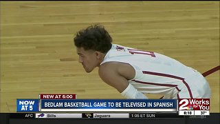 Bedlam basketball game to be televised in Spanish