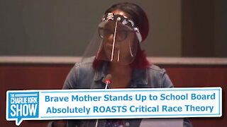 Brave Mother Stands Up to School Board Absolutely ROASTS Critical Race Theory