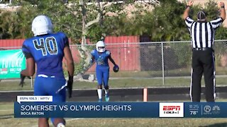 Somerset Canyons beats Olympic Heights