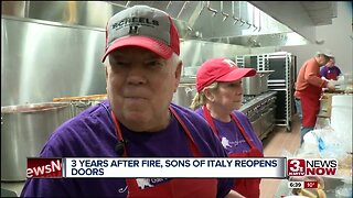 Three Years After Fire, Sons of Italy Reopens