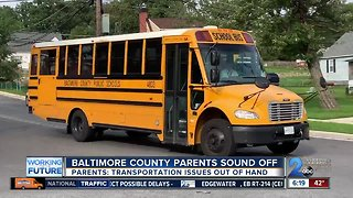 Baltimore County parents sound off about transportation issues