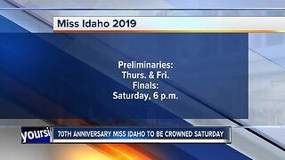 Miss Idaho organization celebrating 70th anniversary