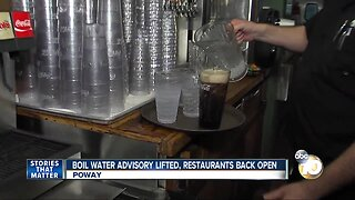 Poway restaurants open after week of forced closure from water contamination