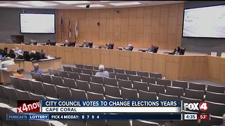 Cape Coral City Council to change election years