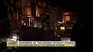 Hundreds of thousands still without power in metro Detroit