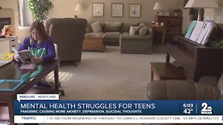Mental Health Struggles for Teens amid COVID-19 pandemic