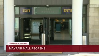 Mayfair mall reopens