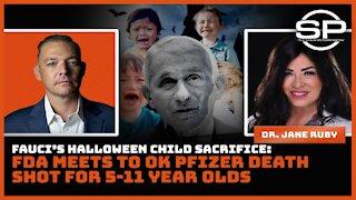 ARREST FAUCI: The Devil's Halloween Child Sacrifice Aimed at 5-11 Y/O