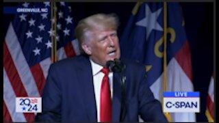 Trump Rally in Sarasota, Florida
