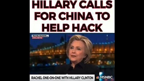 HRC And Rachel Maddow Ask China to Hack USA Reverse Speech Analysis- See Descrpt. Box for More Info