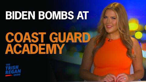 Biden Bombs At Coast Guard Academy