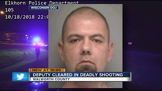 Deputy cleared in Walworth County shooting after high-speed chase [VIDEO]