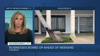 Palm Beach businesses boarded up in case of protests