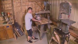 Carroll County teen becomes woodworking sensation