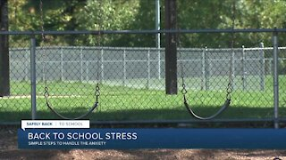 Back to school stress: Simple steps to handle the anxiety