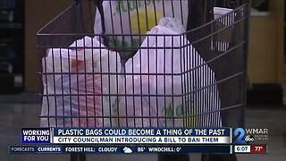 Plastic bag ban introduced in Baltimore City Council