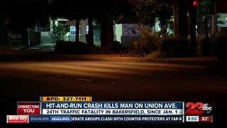 Hit-and-run crash in Bakersfield