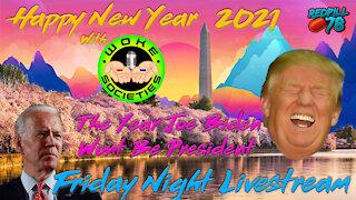 Happy New Year with Woke Societies & RP78 on Friday Night Livestream