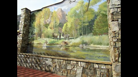 Western Murals: Glimpses of the Past, Present, and Future