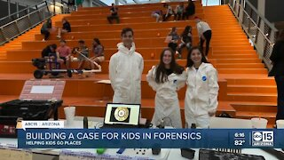 Helping Kids Go Places: Millenium High School forensic science club