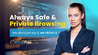 The TraceFree Browser