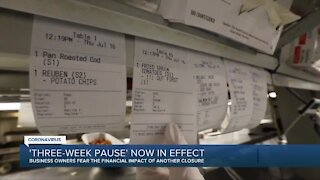 '3-week pause' implementing new statewide COVID-19 restrictions in effect today
