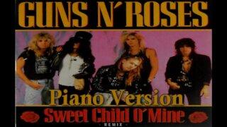 Piano Version - Sweet Child O' Mine (Guns N Roses)