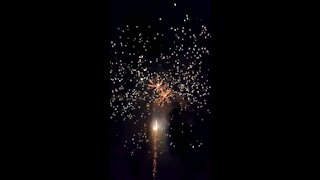 Firework finale - Happy Independence Day!