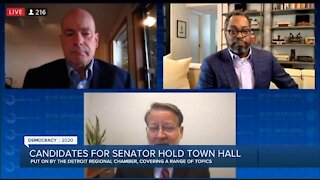 Senate candidates hold town hall
