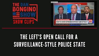 The Left's open call for a surveillance-style police state - Dan Bongino Show Clips