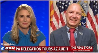 The Real Story - OAN Live from Maricopa County with State Sen. Doug Mastriano