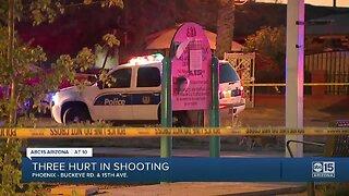 Three hurt in Phoenix shooting