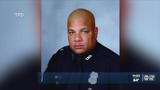 Tampa community mourns officer killed in wrong-way crash