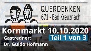 Rede Dr. Guido Hofmann 10.10.2020 Querdenken 671 (Teil 1 von 3)