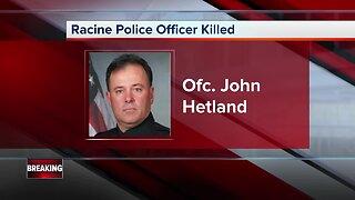 People come together to remember Racine Officer John Hetland