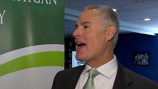 EMU head coach Chris Creighton interview at MAC Media Day