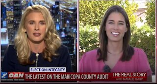The Real Story - OANN Maricopa Country Election Audit with Christina Bobb