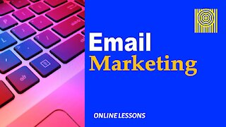 Email Marketing - Online Lesson
