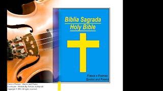Deus não é violino, mas pode fazer uma linda serenata muito especial [Frases e Poemas]