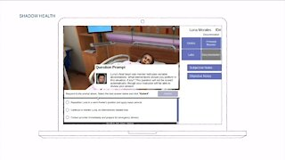Virtual patients being used in nurse training