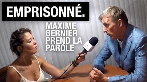 """""""On est au Canada, pas en Chine...une motivation politique"""": Maxime Bernier sur les règles de COVID"""