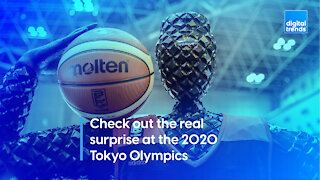 Check out the real surprise at the 2020 Tokyo Olympics!